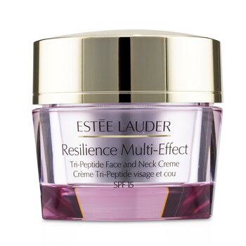 Estee Lauder Resilience Multi-Effect Tri-Peptide Face and Neck Creme SPF 15 - For Dry Skin