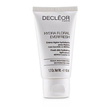 Decleor Hydra Floral Everfresh Fresh Skin Hydrating Light Cream - For Dehydrated Skin (Salon Product)