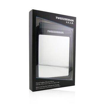 Tweezerman G.E.A.R. Travel Fogless Shower Mirror