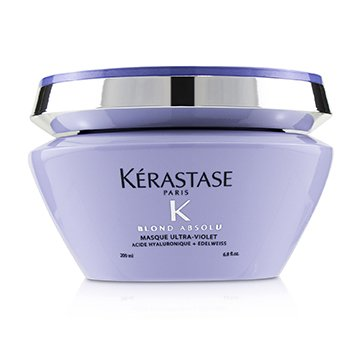 Kerastase Blond Absolu Masque Ultra-Violet Anti-Brass Blonde Perfecting Purple Masque (Lightened Cool Blonde Hair)