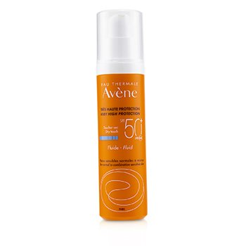 Avene Very High Protection Fluid SPF 50 - For Normal to Combination Sensitive