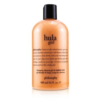 Philosophy Hula Girl Shampoo, Shower Gel & Bubble Bath