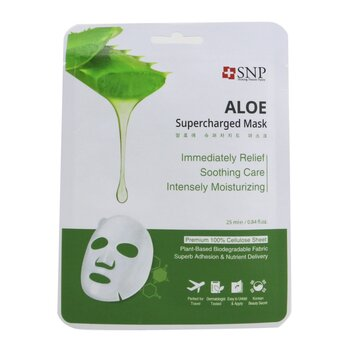 SNP Aloe Supercharged Mask (Moisture & Soothing) 846510