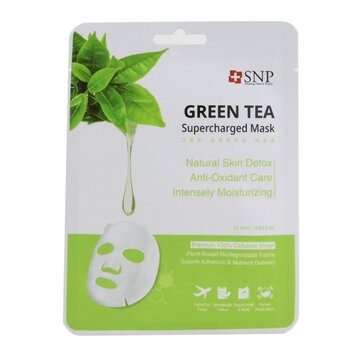 SNP Green Tea Supercharged Mask (Detox)