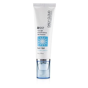 SNP Daily Cloud SPF 50+ Sun Gel (UVA/UVB Defense)