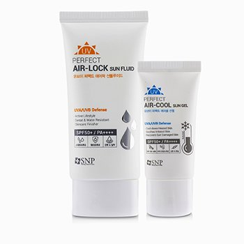 SNP UV Perfect Air-Lock SPF 50+ Sun Fluid (UVA/UVB Defense)