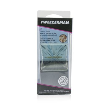 Tweezerman Clear Skin Microderm Tool - At Home Microdermabrasion