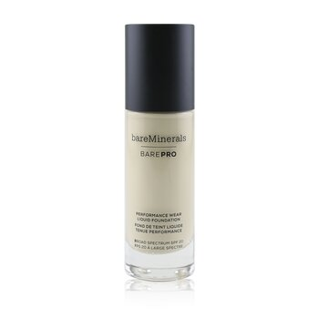 BareMinerals BarePro Performance Wear Liquid Foundation SPF20 - # 02 Ivory