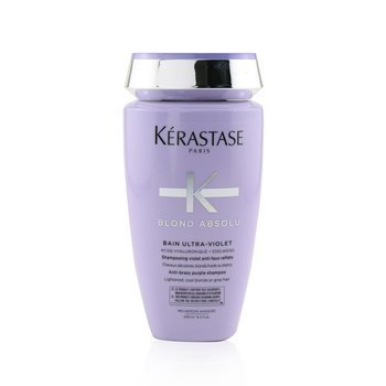Kerastase Blond Absolu Bain Ultra-Violet Anti-Brass Purple Shampoo (Lightened, Cool Blonde or Grey Hair)