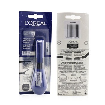 LOreal Unlimited Waterproof Mascara - # Intense Black