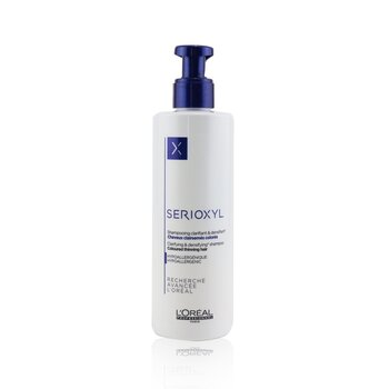 LOreal Professionnel Serioxyl Clarifying & Densifying Shampoo (Coloured Thinning Hair)