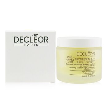 Decleor Aromessence Rose DOrient Soothing Comfort Night Face Balm - For Sensitive Skin (Salon Size)