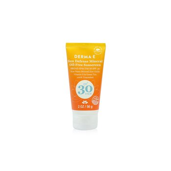 Derma E Sun Defense Mineral Oil-Free Sunscreen SPF 30 Face