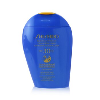 Shiseido Expert Sun Protector SPF 30 UVA Face & Body Lotion (Turns Invisible, High Protection & Very Water-Resistant)