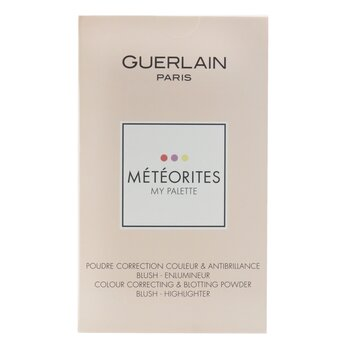 Guerlain Meteorites My Palette (Colour Correcting Blotting Powder, Blush And Highlighter)
