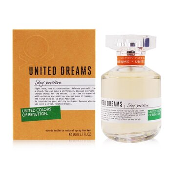 Benetton United Dreams One Love Eau De Toilette Spray