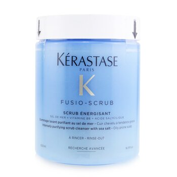 Kerastase Fusio-Scrub Scrub Energisant Intensely Purifying Scrub Cleanser with Sea Salt (Oily Prone Scalp)