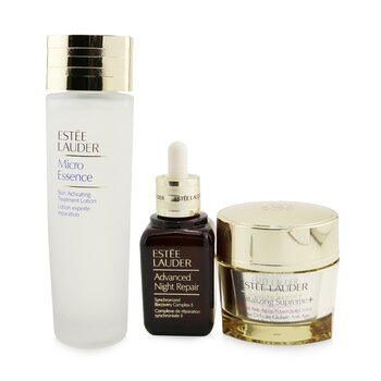 Estee Lauder Advanced Night Repair Essentials Set: Advanced Night Repair 50ml+ Micro Essence 150ml+ Revitalizing Supreme+ Creme 75ml