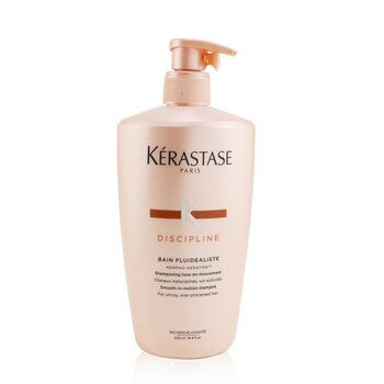 Kerastase Discipline Bain Fluidealiste Smooth-In-Motion Shampoo (For Unruly, Over-Processed Hair)