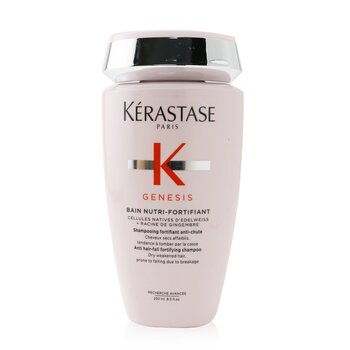 Kerastase Genesis Bain Nutri-Fortifiant Anti Hair-Fall Fortifying Shampoo (Dry Weakened Hair, Prone To Falling Due To Breakage)