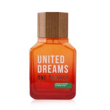 Benetton United Dreams One Summer Eau De Toilette Spray (2019 Edition)