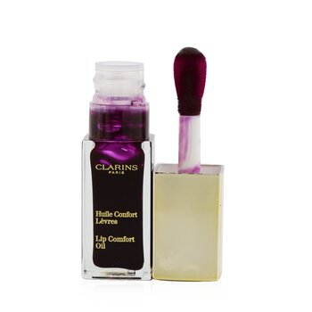 Clarins Lip Comfort Oil - # 08 Blackberry