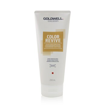 Goldwell Dual Senses Color Revive Color Giving Conditioner - # Dark Warm Blonde (Box Slightly Damaged)