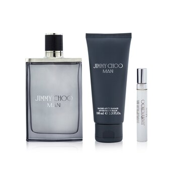 Jimmy Choo Jimmy Choo Coffret: Eau De Toilette Spray 100ml + Eau De Toilette Spray 7.5ml + After Shave Balm 100ml