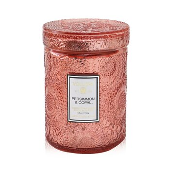 Voluspa Small Jar Candle - Persimmon Copal