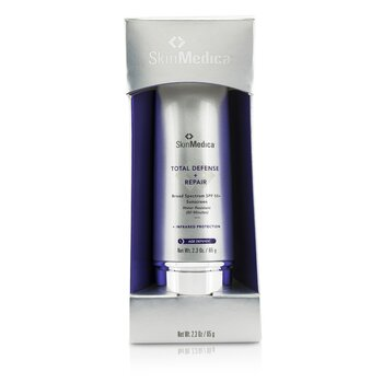 Skin Medica Total Defense + Repair SPF 50+ - 80 Minutes Water Resistant (Exp. Date 07/2021)
