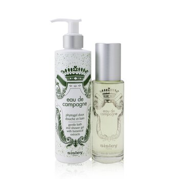 Sisley Eau De Campagne Coffret: Eau De Toilette Spray 100ml + Gentle Bath And Shower Gel 250ml