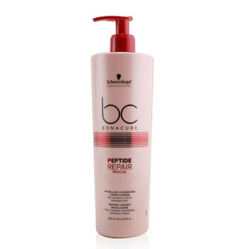 Schwarzkopf BC Bonacure Peptide Repair Rescue Micellar Cleansing Conditioner (For Normal to Thick Damaged Hair)