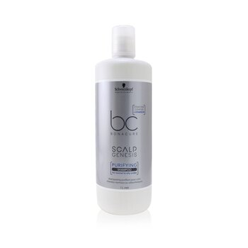 Schwarzkopf BC Bonacure Scalp Genesis Purifying Shampoo (For Normal to Oily Scalps)