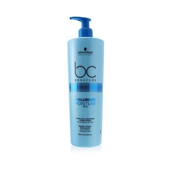Schwarzkopf BC Bonacure Hyaluronic Moisture Kick Micellar Cleansing Conditioner (For Normal to Dry Hair)