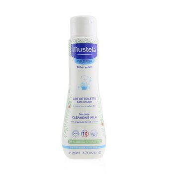 Mustela No Rinse Cleansing Milk - For Normal Skin