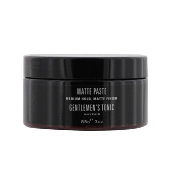 Gentlemens Tonic Matte Paste (Medium Hold, Matte Finish)