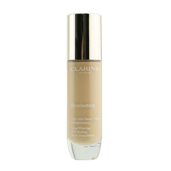 Clarins Everlasting Long Wearing & Hydrating Matte Foundation - # 107C Beige