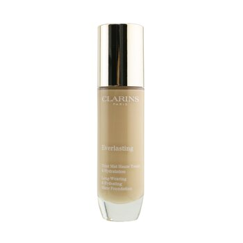 Clarins Everlasting Long Wearing & Hydrating Matte Foundation - # 109C Wheat