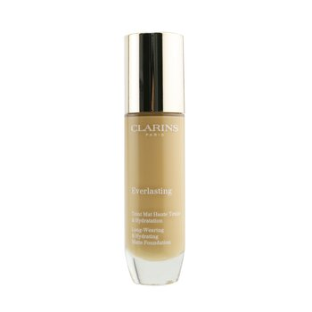 Clarins Everlasting Long Wearing & Hydrating Matte Foundation - # 112.5W Caramel