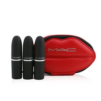 MAC Powder Kiss Lipstick Set (3x Lipstick)