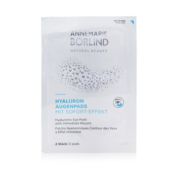 Annemarie Borlind Hyaluronic Eye Pads with Immediate Results