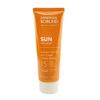 Annemarie Borlind Sun Anti Aging Sun Cream SPF 15