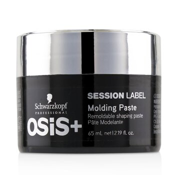 Schwarzkopf Osis+ Session Label Molding Paste - Remoldable Shaping Paste (Exp. Date: 06/2021)