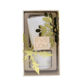 Eve Lom Iconic Cleanse Ornament Travel Set: Cleanser 20ml + Muslin Cloth 1pc
