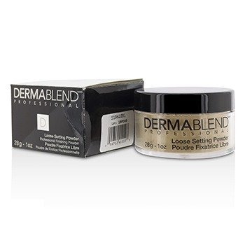 Dermablend Loose Setting Powder (Smudge Resistant, Long Wearability) - Cool Beige (Box Slightly Damaged)