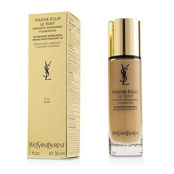 Yves Saint Laurent Touche Eclat Le Teint Radiance Awakening Foundation SPF22 - #B40 Sand