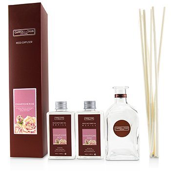 Carroll & Chan (The Candle Company) Reed Diffuser - Champagne Rose