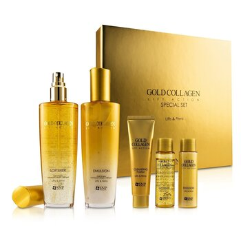 SNP Gold Collagen Lift Action Special Set - Lifts & Firms (Exp. Date 07/2021)
