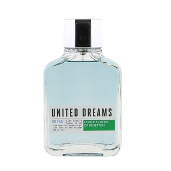 Benetton United Dreams Go Far Eau De Toilette Spray